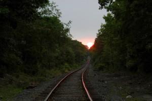 Quelle longueur, cette voie, dans un train verrou... vers où ?